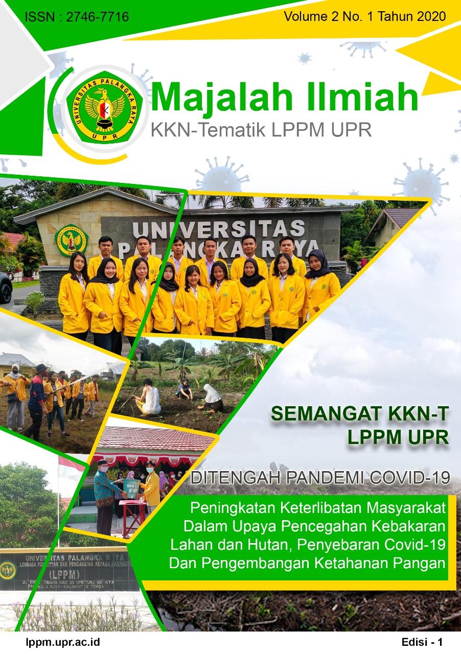 View Vol. 2 No. 1 (2020): Majalah Ilmiah KKN-Tematik LPPM UPR Volume 2 Edisi 1