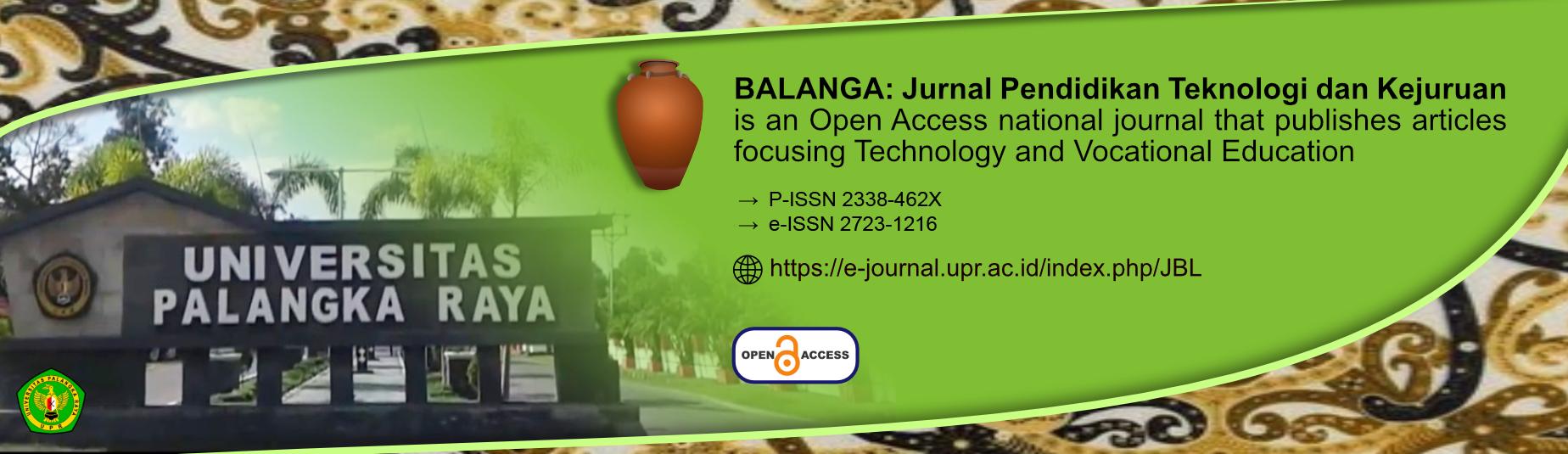 Editorial Office Journal Balanga